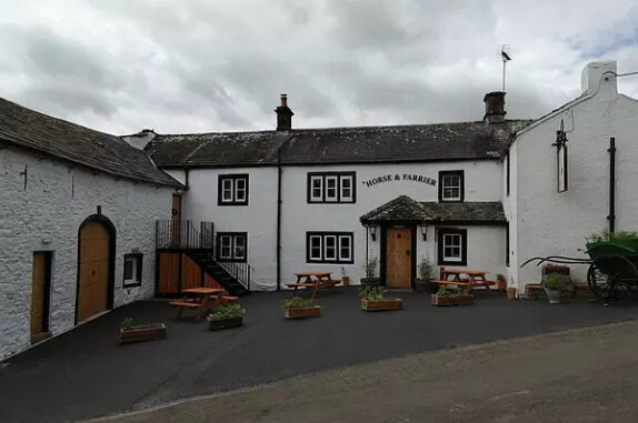 The Horse and Farrier in Dacre,