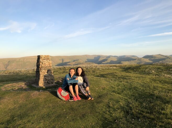 To the top of Little Mell Fell